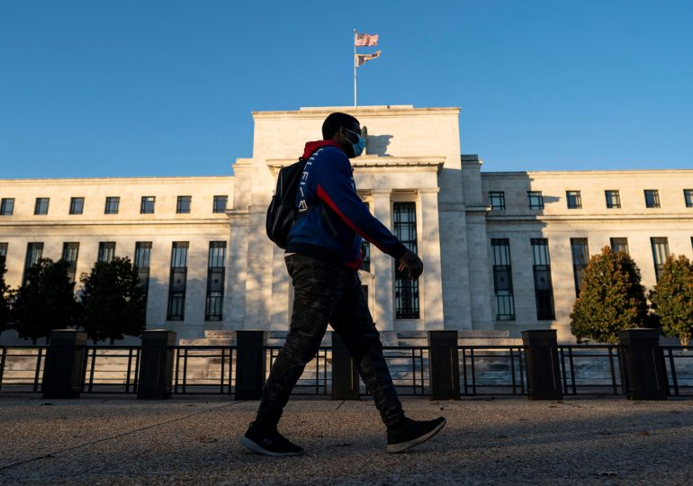 Fed officials see economy 'far from' where it needs to be, meaning easy policy won't change soon, minutes show