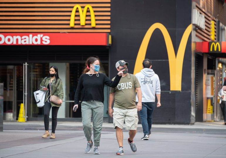 McDonald's earnings fall short, hurt by European lockdowns, but sees this year's sales topping 2019