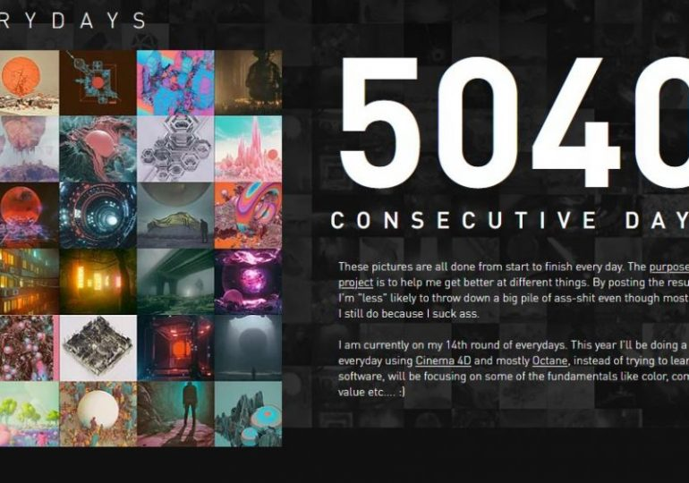 NFT 'art revolution': Beeple on his 5040 day labor of love