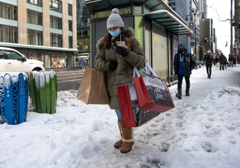 Retail sales burst higher in January as consumers use stimulus checks to spend heavily