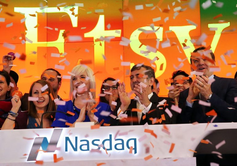 Stocks making the biggest moves midday: Etsy, Virgin Galactic, Foot Locker & more