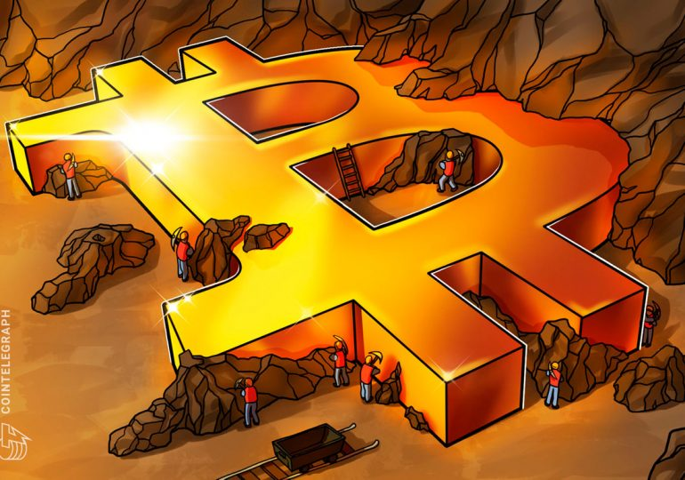 Bitcoin miners back hash rate derivative DeFi project on BSC