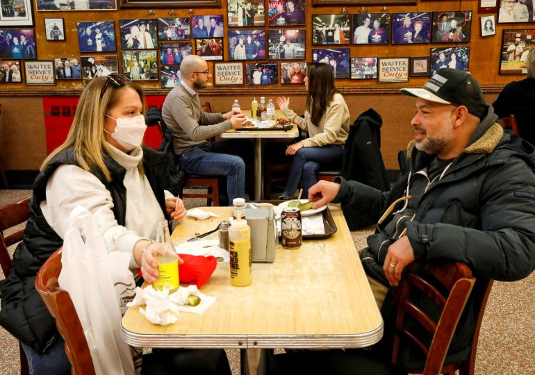 CDC study finds easing mask and restaurant rules led to more Covid cases and deaths, as some states move to lift restrictions