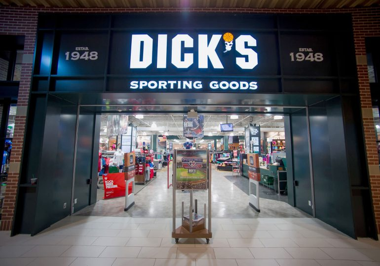 Dick's Sporting Goods shares fall as retailer predicts slowing sales in year ahead