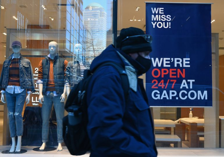 Gap forecasts return to sales growth in 2021, sending shares higher despite sales miss