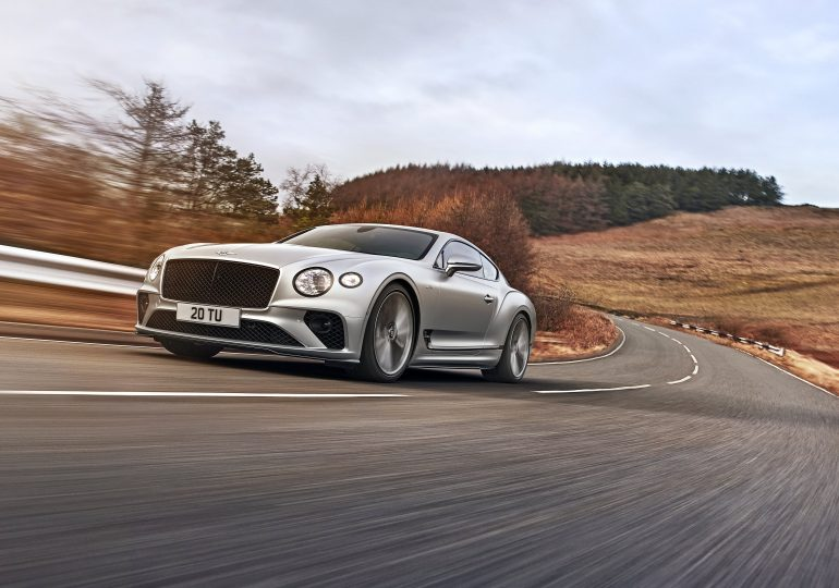 Meet Bentley's new 208-mph Continental GT Speed for $275,000