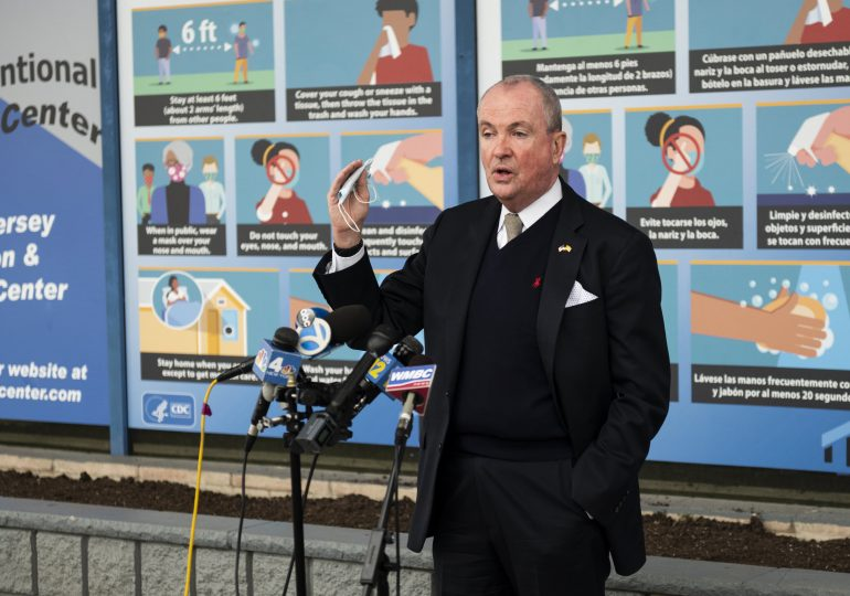 New Jersey likely to pause reopening plans as Covid cases rise, governor says