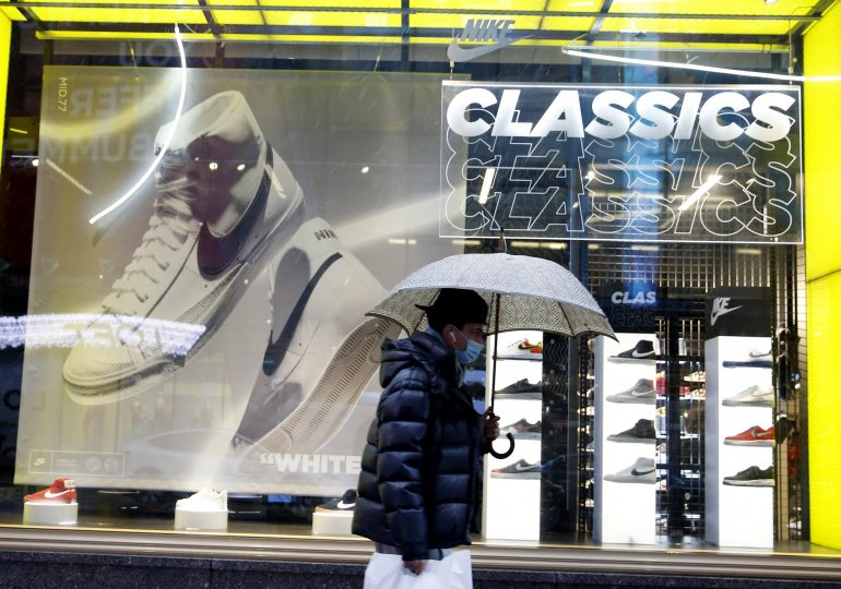 Nike posts mixed results as sales fall short of estimates, hurt by U.S. port congestion
