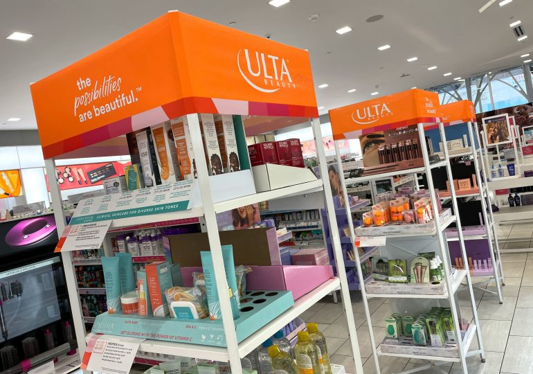 Ulta shares tumble on weaker-than-expected outlook, retailer taps Dave Kimbell as CEO