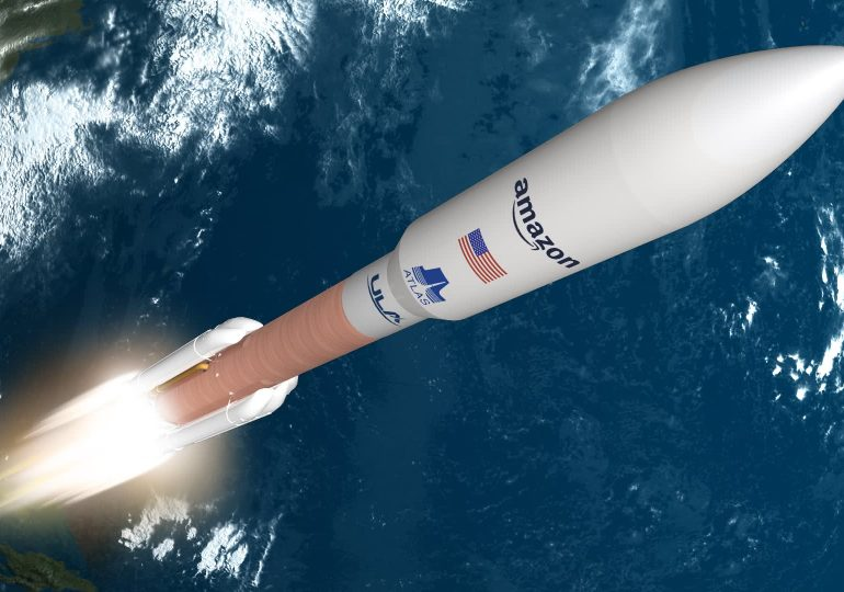 Amazon signs with ULA for rockets to launch Jeff Bezos' Kuiper internet satellites