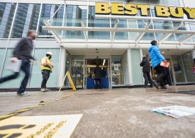 Best Buy earnings beat expectations, but shares fall as sales growth slows