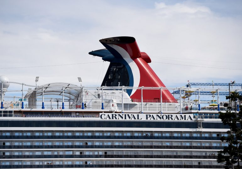 Carnival says bookings are rising at record pace, could switch home ports if US rules are too restrictive