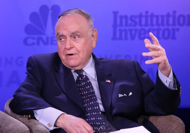 Leon Cooperman sees stock market lower a year from now due to tax, rate, inflation pressures