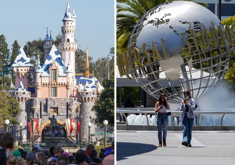 'One-thirtieth' of the way back: Small businesses see theme park reopenings jump-starting California's recovery