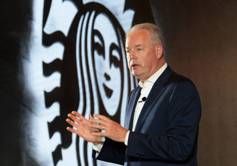 Starbucks shares fall despite higher forecast as investors worry about international growth