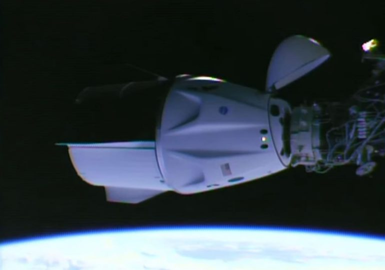 Two SpaceX crew spacecraft are now docked to the space station, as the Crew-2 mission arrives