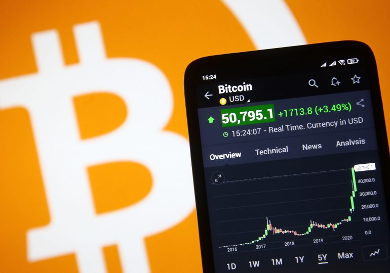 Bitcoin is coming to hundreds of U.S. banks this year, says crypto custody firm NYDIG