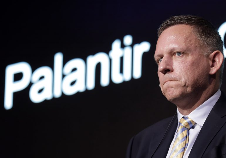 Palantir reports 49% revenue growth for its first quarter