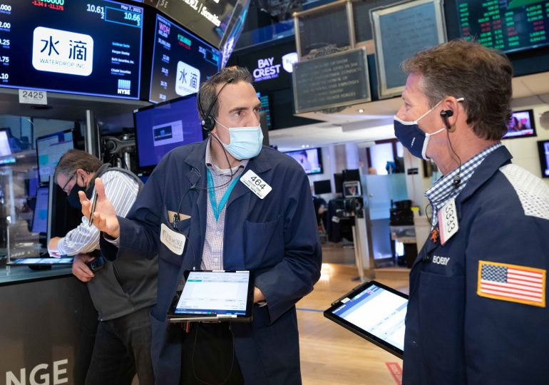 Stock futures rise slightly after Wall Street's worst week since February