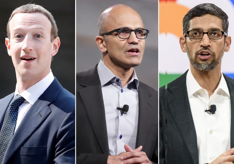 Tech giants' earnings showed their absolute dominance