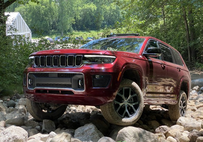 Jeep Grand Cherokee L arriving in showrooms to expand brand's reach
