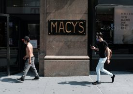 Macy's reports surprise profit, retailer hikes full-year outlook