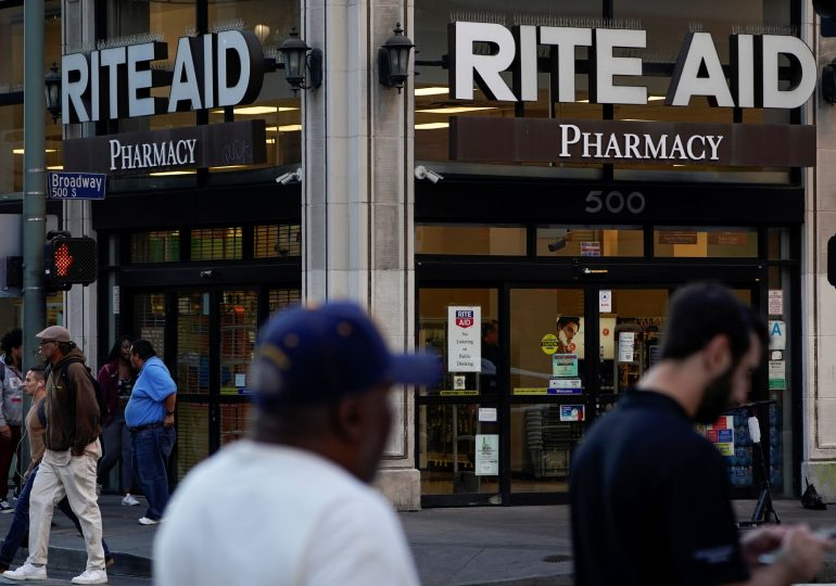 Rite Aid shares plummet; CEO cites Covid uncertainty for drug store chain's cautious outlook
