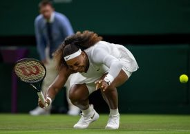 Serena Williams out after suffering ankle injury during first-round match
