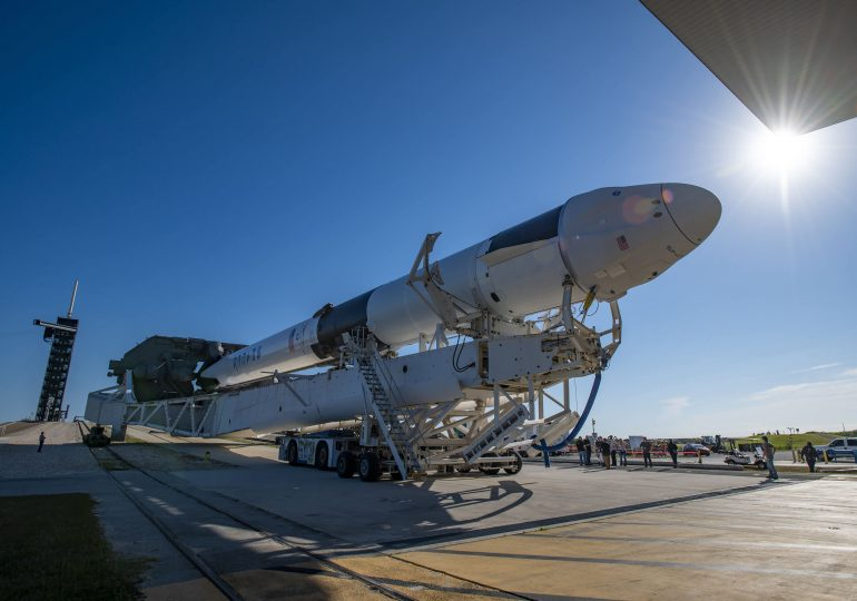 SpaceXsends cargo to the space station, with the company on a record launch pace for 2021