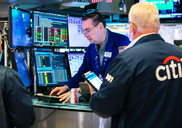 Stock index futures are little changed after Nasdaq closes at record