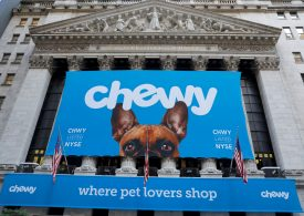 Stocks making the biggest moves midday: Chewy, Biogen, Snowflake and more