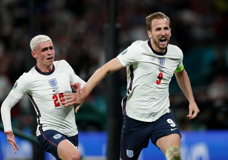 England 2-1 Denmark: Harry Kane strikes extra-time winner as Three Lions set up Euro 2020 final with Italy