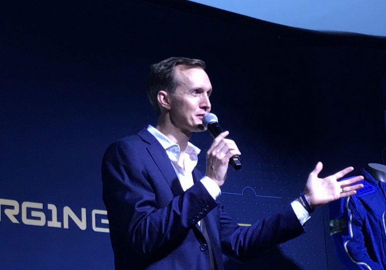 Former Virgin Galactic CEO to launch on the company's next spaceflight test