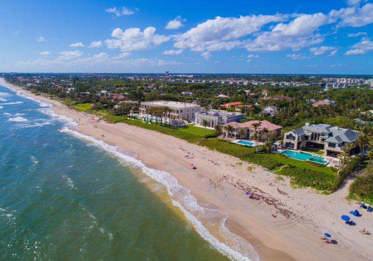 Palm Beach is running out of mansions for sale