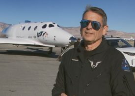 Virgin Galactic flight test director Mark Stucky, who led first spaceflight, departs from company