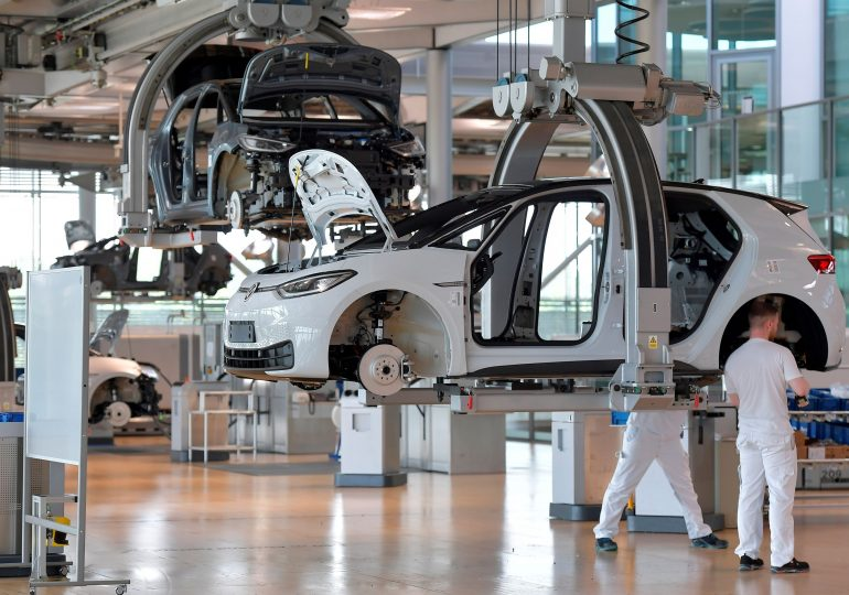 Volkswagen posts record first-half earnings and raises profit margin target