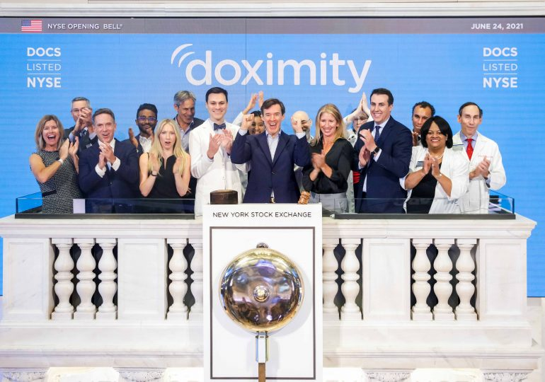 Doximity shares jump after digital health company says revenue doubled in first report since IPO