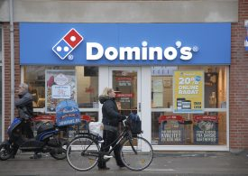 Domino's shares rise as investors look past sales miss, executives outline steps to ease staffing issues