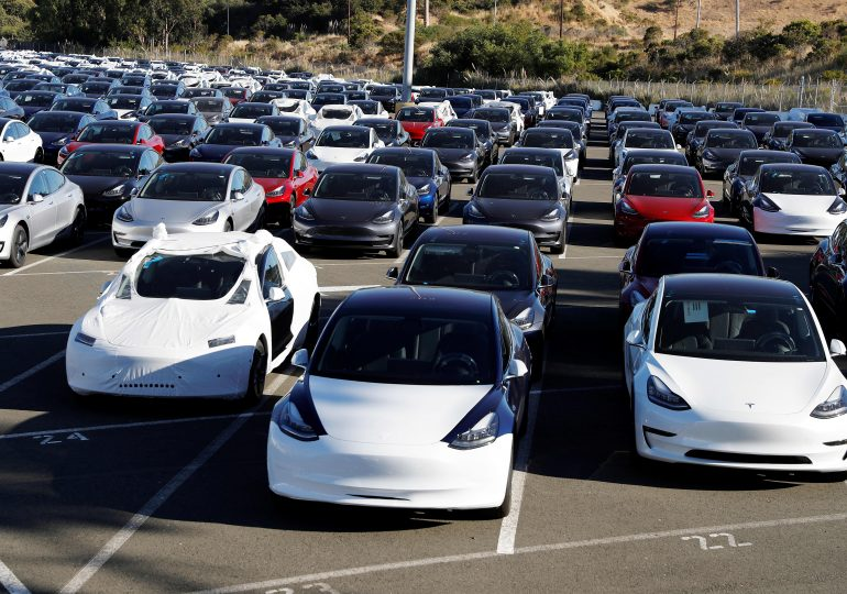 Tesla delivered 241,300 vehicles in the third quarter, topping expectations